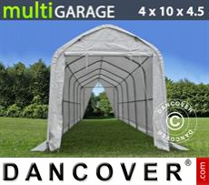 Boat shelter multiGarage 4x10x3.5x4.5 m, White