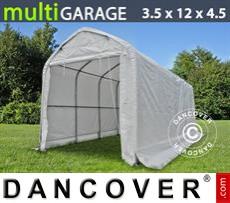 Camper Tent multiGarage 3.5x12x3.5x4.5 m, White