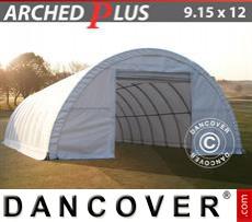 Camper Tent 9.15x12x4.5 m PVC, White