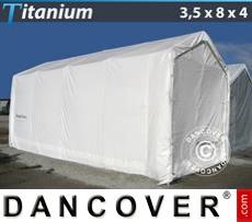 Camper Tent Titanium 3.5x8x3x4 m, White