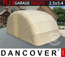 Folding garage (Car), 2.5x5.4x2 m, Beige