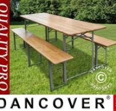 Garden Furniture, 180x60x76cm, Light wood