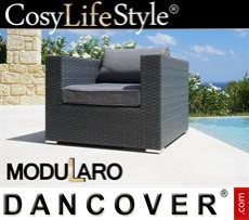 Garden Furniture armGarden Furniture for Modularo, Grey