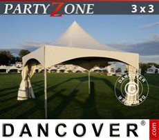 Garden gazebo PartyZone 3x3 m PVC