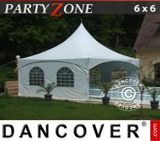 Garden gazebo PartyZone 6x6 m PVC