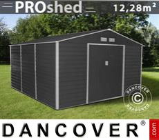 Garden shed 3.4x3.82x2.05 m ProShed, Anthracite