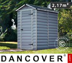 Garden shed, SkyLight, 1.23x1.78x2.04 m, Anthracite
