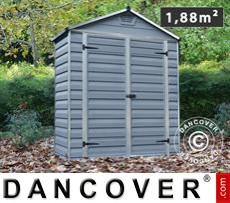 Garden shed, SkyLight, 1.84x0.90x2.17 m, Anthracite