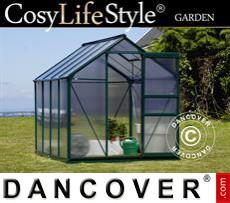 Greenhouse 4.78m², 1.9x2.52x2.01 m, Green