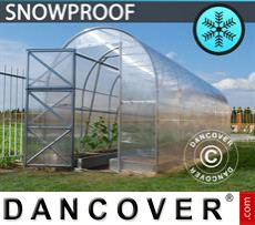 Greenhouse, Duo 4 m², 2x2 m, Silver