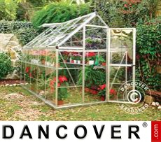 Greenhouse 5.6m², 1.85x3.06x2.08 m Silver