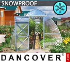 Greenhouse, Arrow 6 m², 3x2 m, Silver