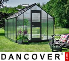 Greenhouse 12.1m², 2.77x4.41x2.57 m, Anthracite