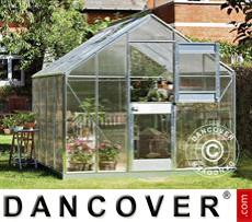 Greenhouse 8.3m², 2.77x2.98x2.57 m, Aluminium