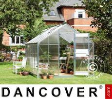 Greenhouse 9.9m², 2.77x3.70x2.57m, Aluminium