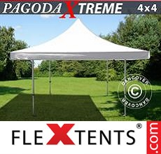 Pop up canopy Pagoda Xtreme 4x4 m / (5x5 m) White