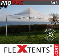 Pop up canopy PRO 3x3 m Clear