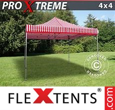 Pop up canopy Xtreme 4x4 m Striped