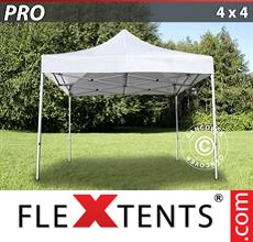 Pop up canopy PRO 4x4 m White