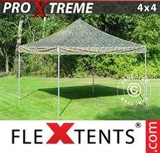 Pop up canopy Xtreme 4x4 m Camouflage/Military
