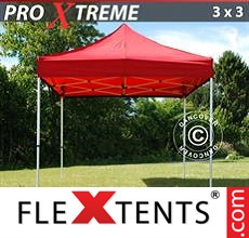 Pop up canopy Xtreme 3x3 m Red