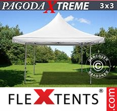 Pop up canopy Pagoda Xtreme 3x3 m / (4x4 m) White