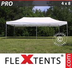 Pop up canopy PRO 4x8 m White