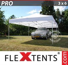 Pop up canopy PRO 3x6 m White