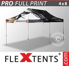 Pop up canopy PRO with full digital print, 4x8 m