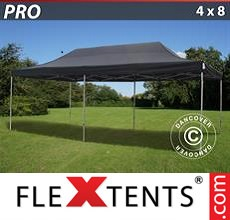 Pop up canopy PRO 4x8 m Black