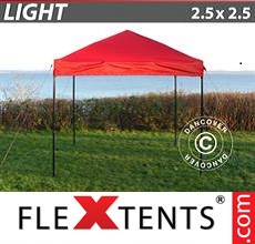Pop up canopy Light 2.5x2.5 m Red