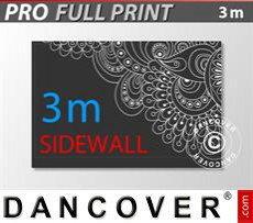 Printed sidewall 3 m for FleXtents PRO