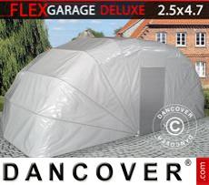 Portable Garage , 2.5x4.7x2 m, Grey