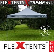Racing tent FleXtents Xtreme 4x4 m Grey