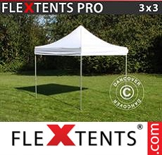Racing tent FleXtents PRO 3x3 m White