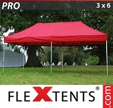 Racing tent PRO 3x6 m Red