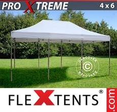 Racing tent Xtreme 4x6 m White