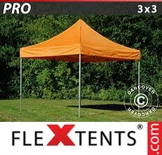 Racing tent PRO 3x3 m Orange