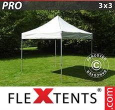 Racing tent PRO 3x3 m Silver