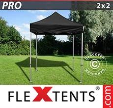 Racing tent PRO 2x2 m Black