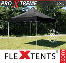 Racing tent Xtreme 3x3 m Black