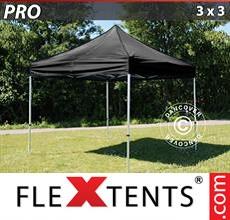 Racing tent PRO 3x3 m Black