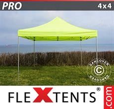 Racing tent PRO 4x4 m Neon yellow/green