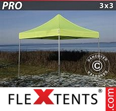 Racing tent PRO 3x3 m Neon yellow/green