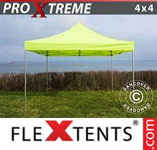 Racing tent Xtreme 4x4 m Neon yellow/green