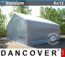 Shelter Titanium 6x12x3,5x5,5 m, White / Grey
