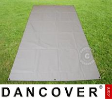 Tarpaulin/Ground Cover 3.8x6.1 m PVC, Grey