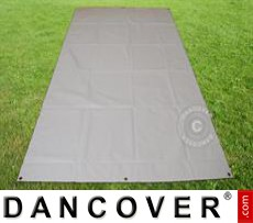 Tarpaulin/Ground Cover, 4.5x6.5 m PVC, Grey