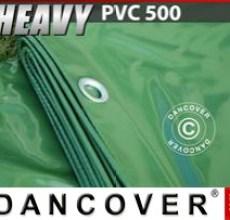 Tarpaulin 4x6 m PVC 500 g/m² Green