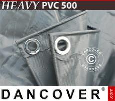 Tarpaulin 5x7m PVC 500 g/m² Grey